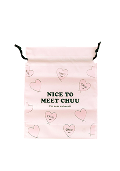 CHUU bags nice to meet chuu beach bag
