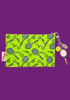 WIGGLEWIGGLE bags Pouch(M) / Tennis