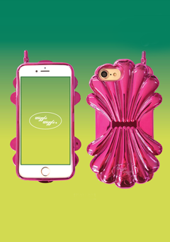 WIGGLEWIGGLE accessories Shell Case(Metal) / Pink