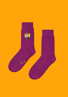 WIGGLEWIGGLE accessories Socks(2) / Panda