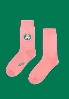 WIGGLEWIGGLE accessories Socks(2) / Poodle