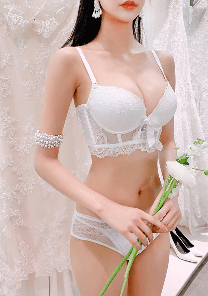 CHUU lingerie & nightwear Wedding Day Bra+Pantie Set