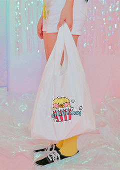 CHUU bags FFC Airport ST1. Yellow Popcorn Bag