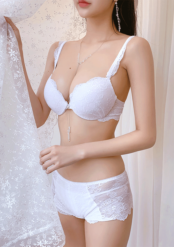 CHUU lingerie & nightwear My Angel Bra+Pantie Set