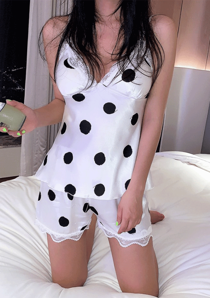 CHOPER lingerie & nightwear Never Missing Polka-Dot Sleepwear