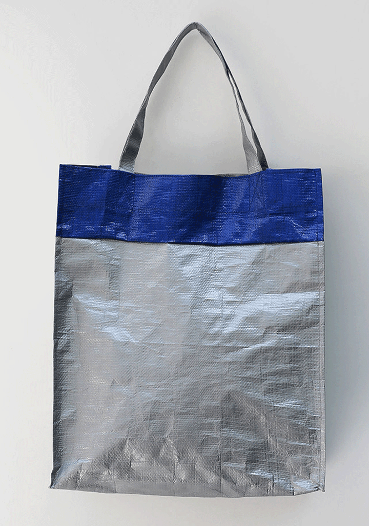 Upcycled Tarp Tote Bag