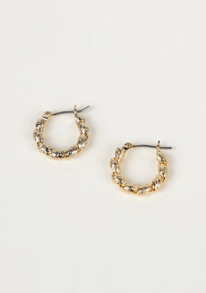 UPTOWNHOLIC jewelry Viva La Vida Hoop Earrings