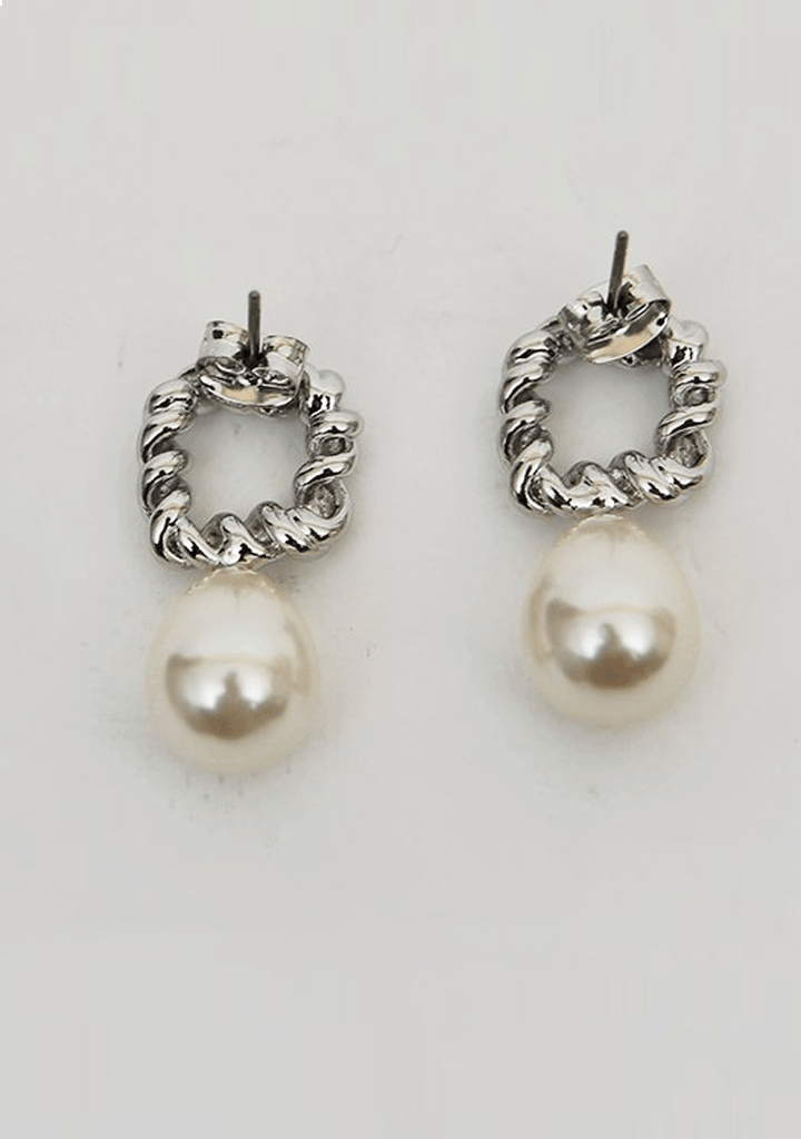 DABAGIRL jewelry Teardrop Faux Pearl Earrings