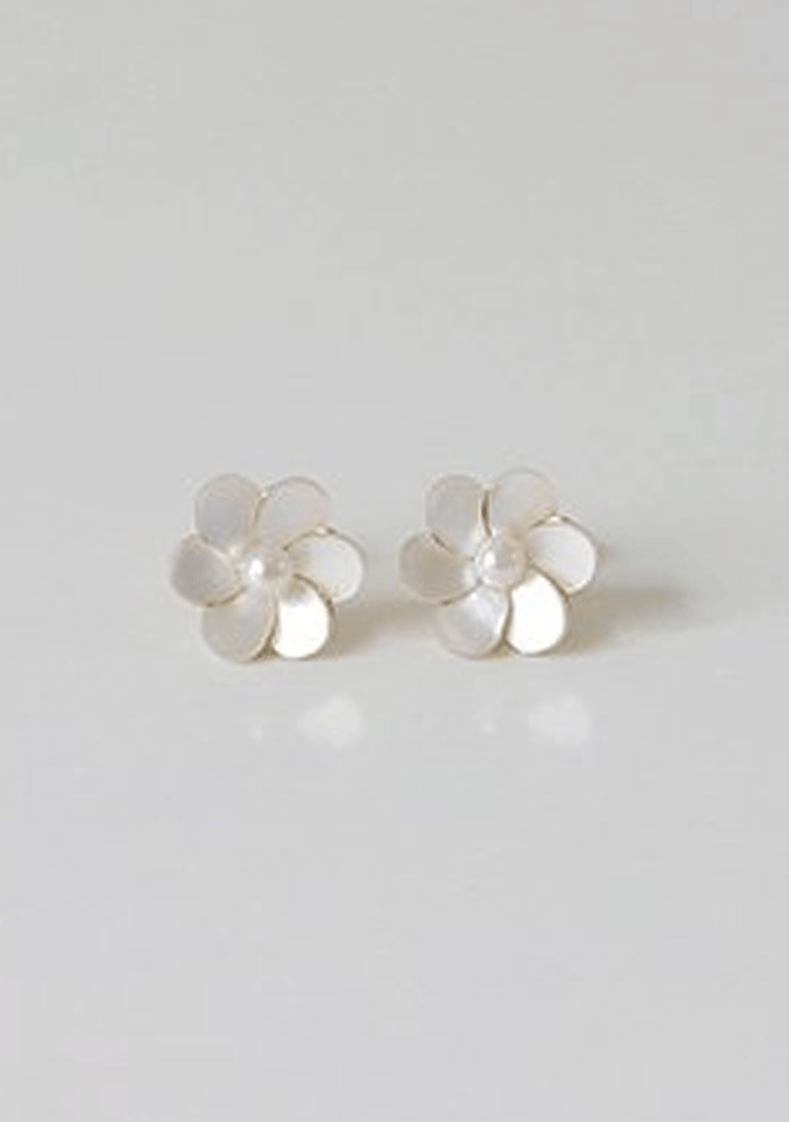 CHERRYKOKO jewelry Pure Flower Earrings