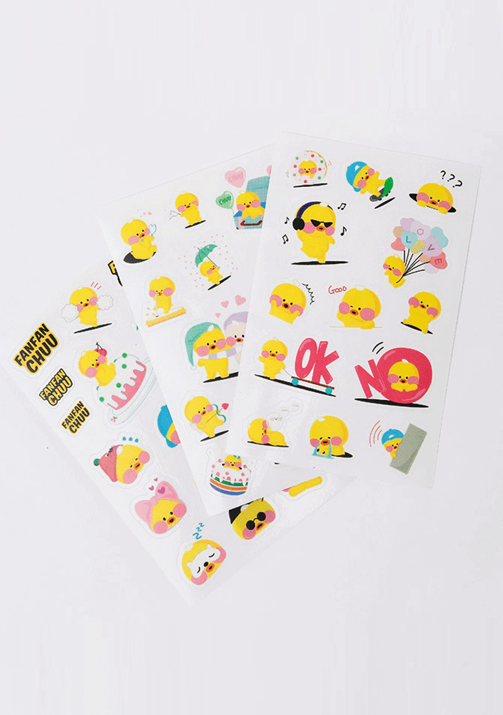 CHUU accessories FFC Welcome Home. Daily FANFAN Sticker