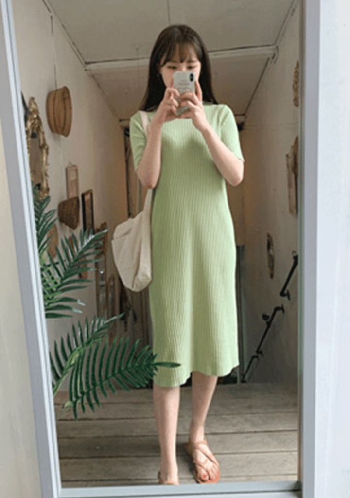 CHERRYKOKO dresses Feel What You Need Knit Dress