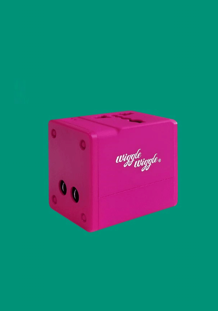 WIGGLEWIGGLE accessories Travel Multi Adapter - Pink