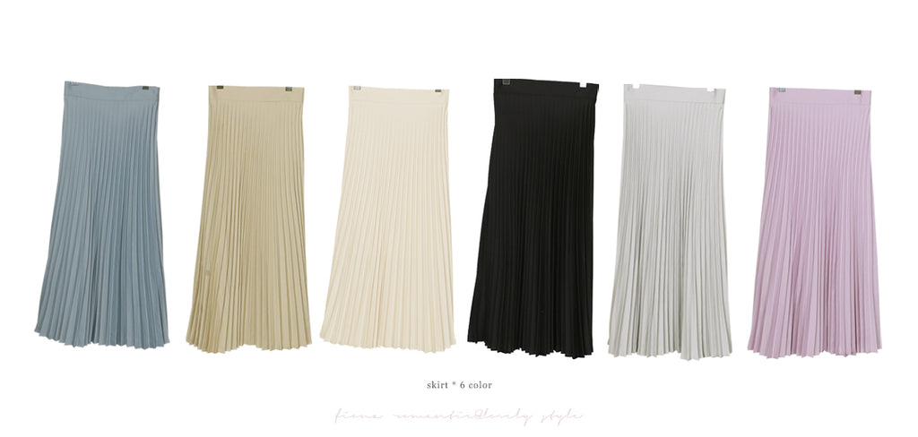 FIONA skirts Invisible To The Eyes Pleated Skirt