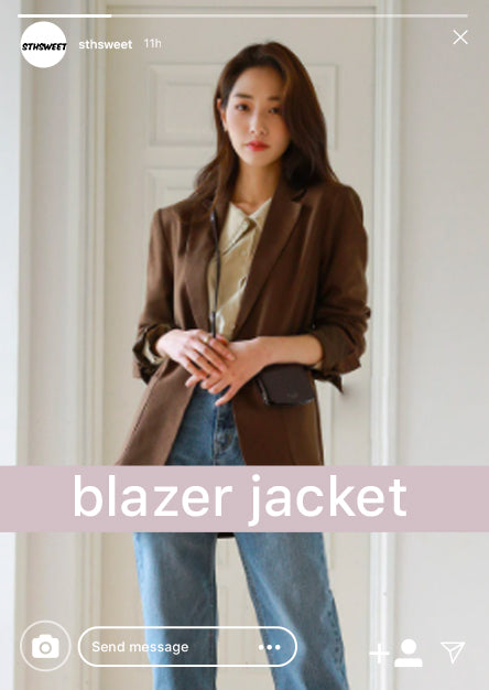 collection blazer jacket