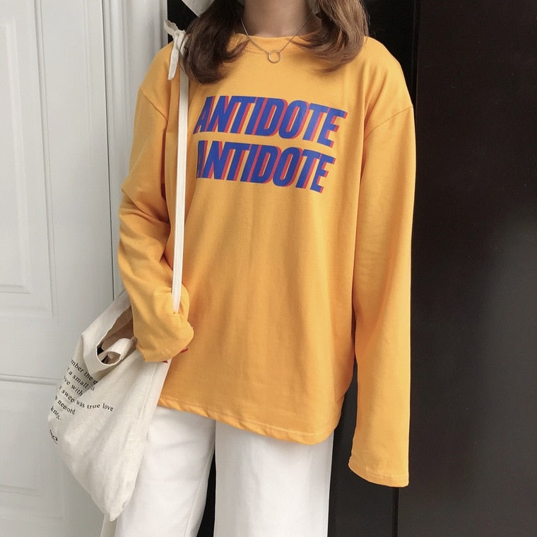 ANTIDOTE vintage long-sleeved T-shirt