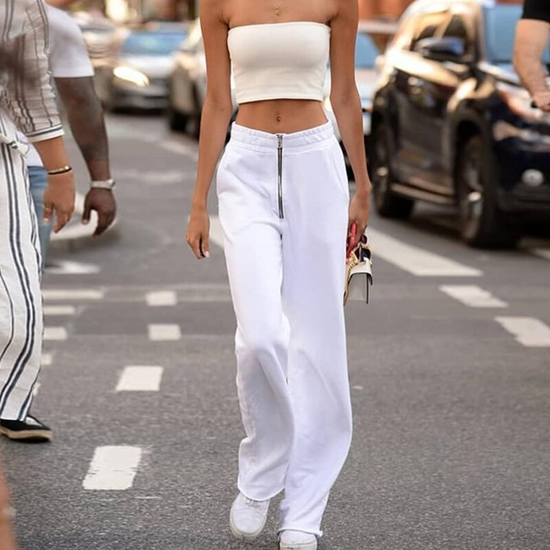 Flowy fitting trousers