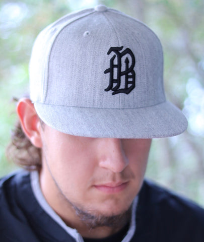 Heather Grey Banditos Cap