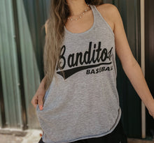 Load image into Gallery viewer, Ladies Grey Tank Top