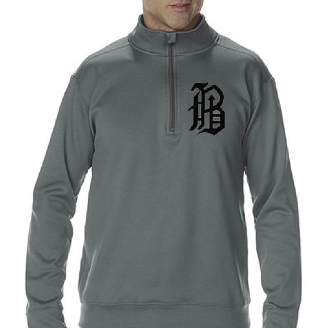 Banditos Quarter Zip light Weight Fleece - Grey