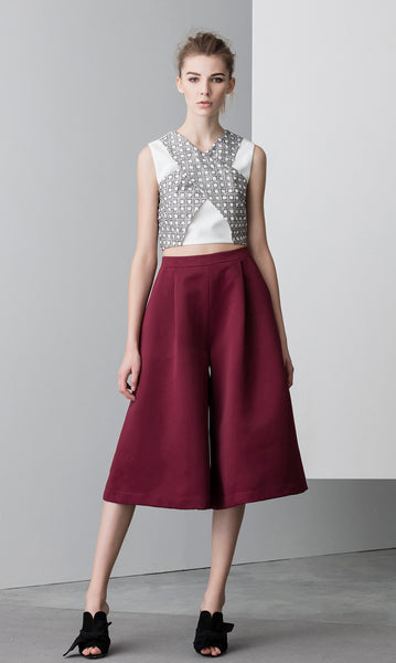 N12H Samurai Top with Martial Culottes