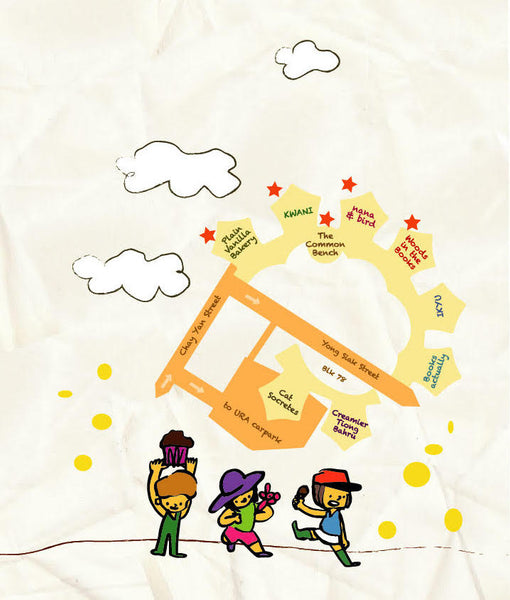 Yong Siak Childrens Street Trail map