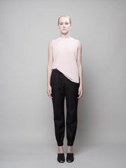 nana & bird Tapered 3/4 Pants in Black