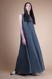 nana & bird Maxi Dress with Stand Collar