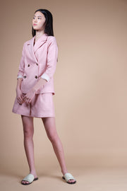 nana & bird Blazer in Blush
