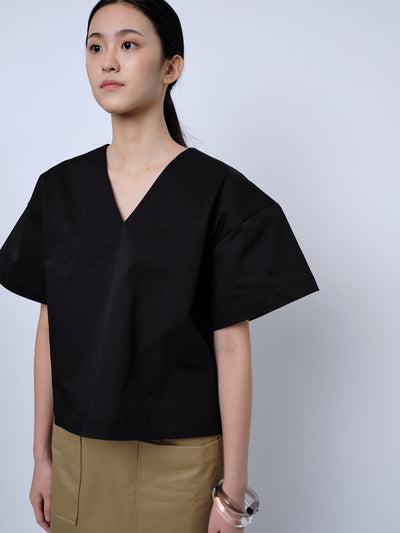 nana & bird Bell-Shaped Top in Black