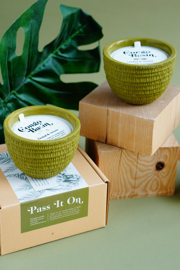 Pass It On Congo & Basin Candle