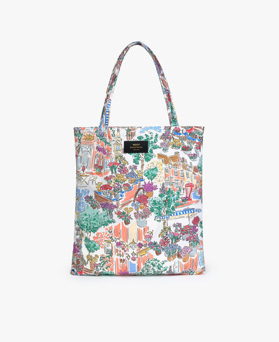 Wouf Market Recycled Tote Bag