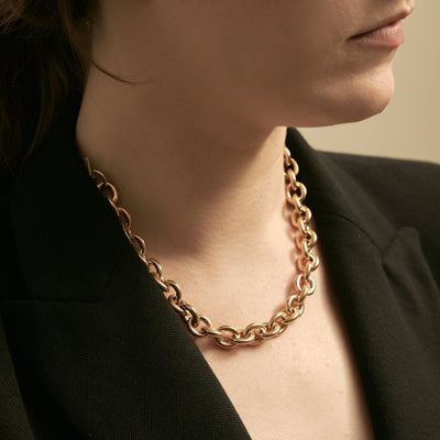 Maslo Round Chain Necklace