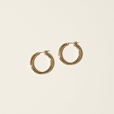 Maslo Small Thin Hoops