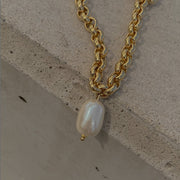 Maslo Rolo Pearl Necklace