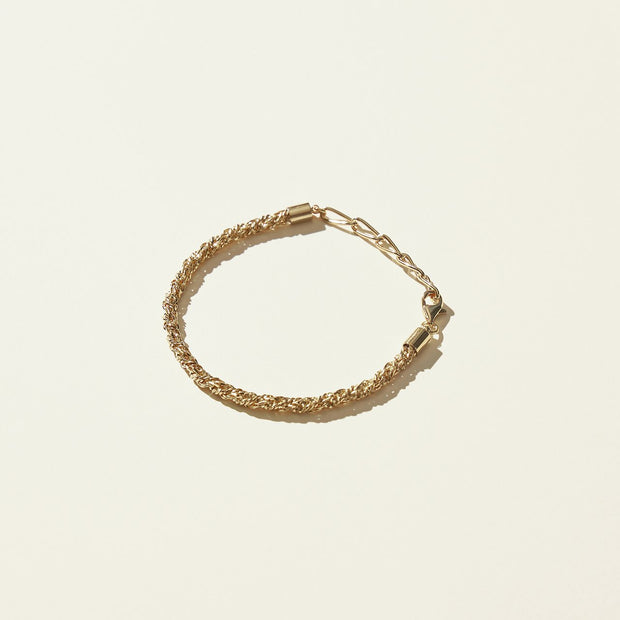 Maslo Textured Toggle Bracelet