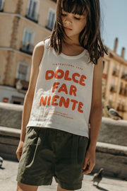 Tiny Cottons Dolce Far Niente Tank Top