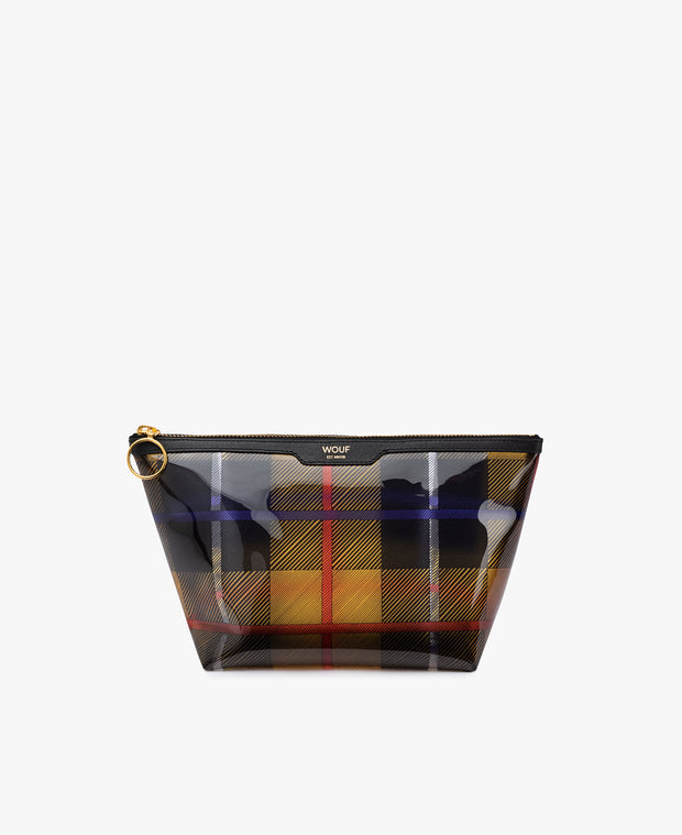 Wouf Yellow Tartan Vinyl Beauty