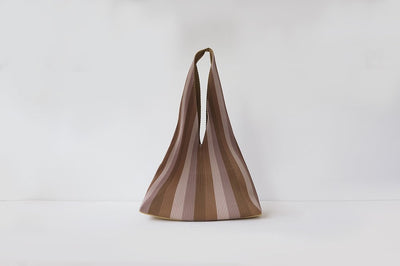 Repleat Bag Burnt Wood Hobo Regular