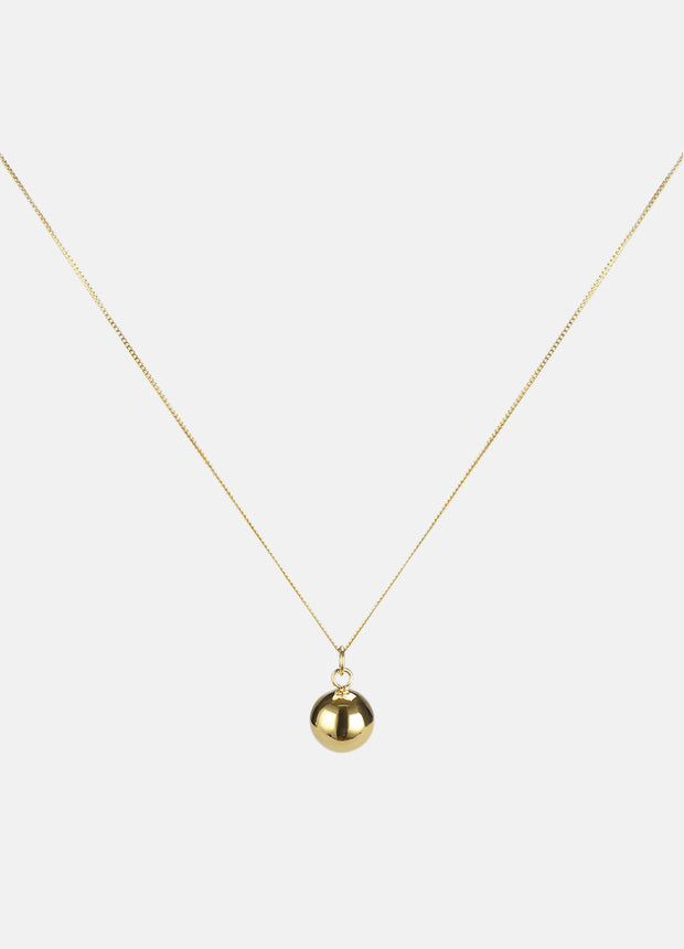 Skultuna Ball Necklace - Gold Plated