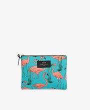 Wouf Pink Flamingo Large Pouch