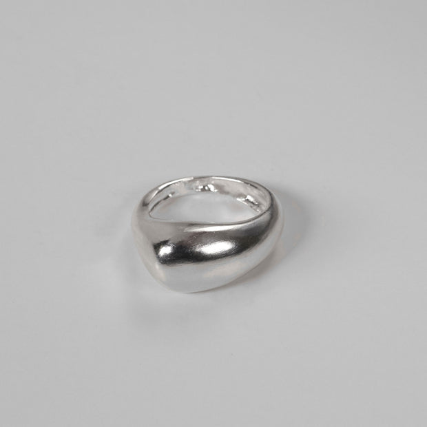 Annika Inez Sloped & Niched Ring Set