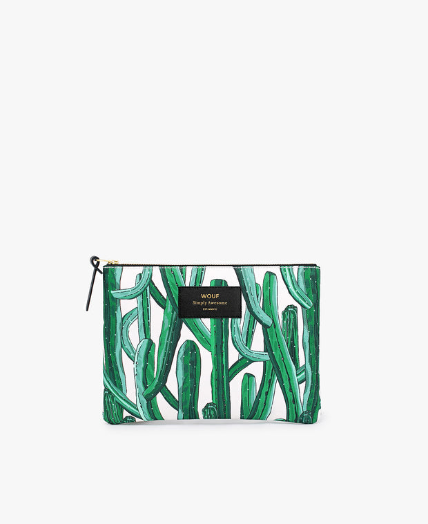 Wouf Wild Cactus Large Pouch