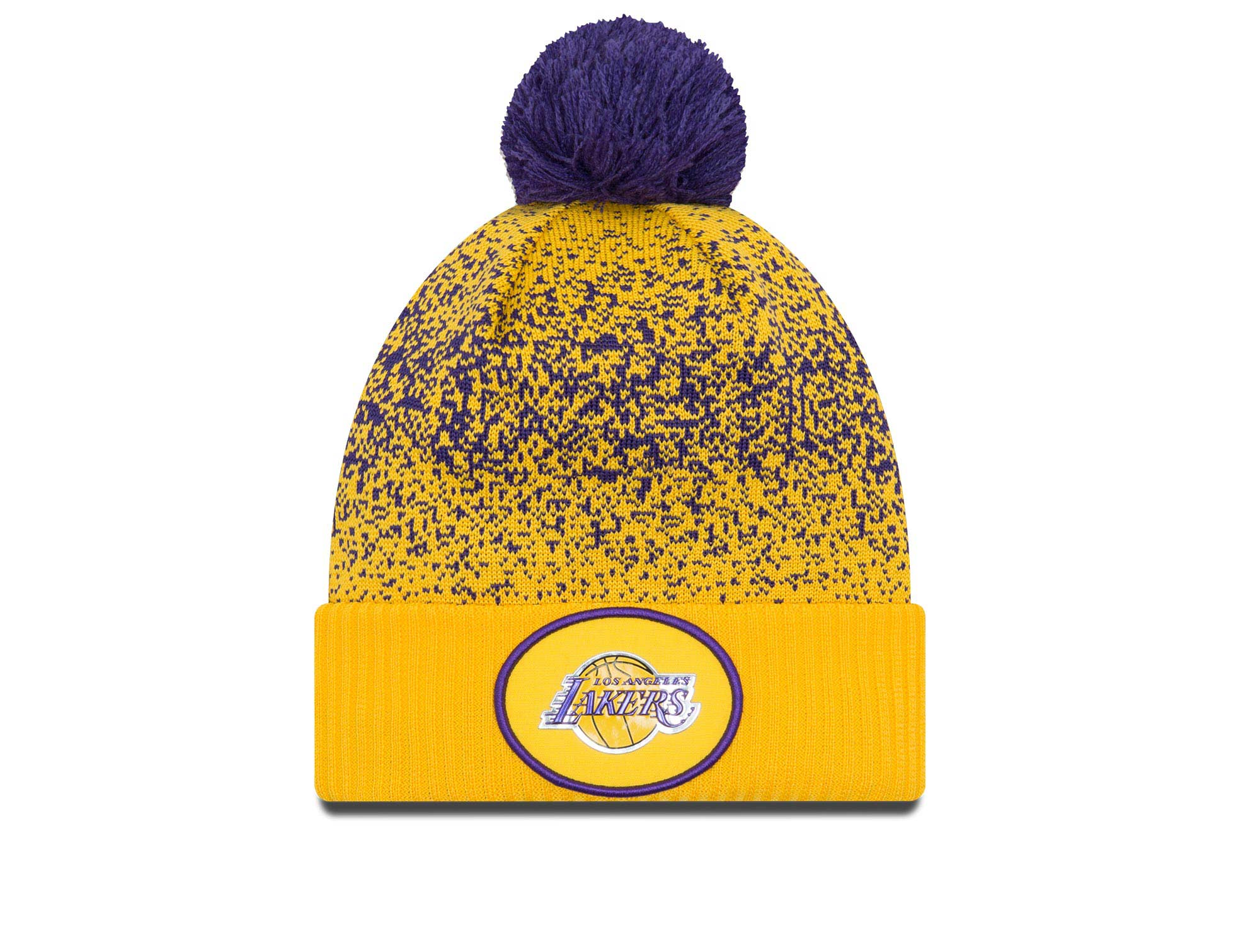 BEANIE NEW ERA LOS ANGELES LAKERS