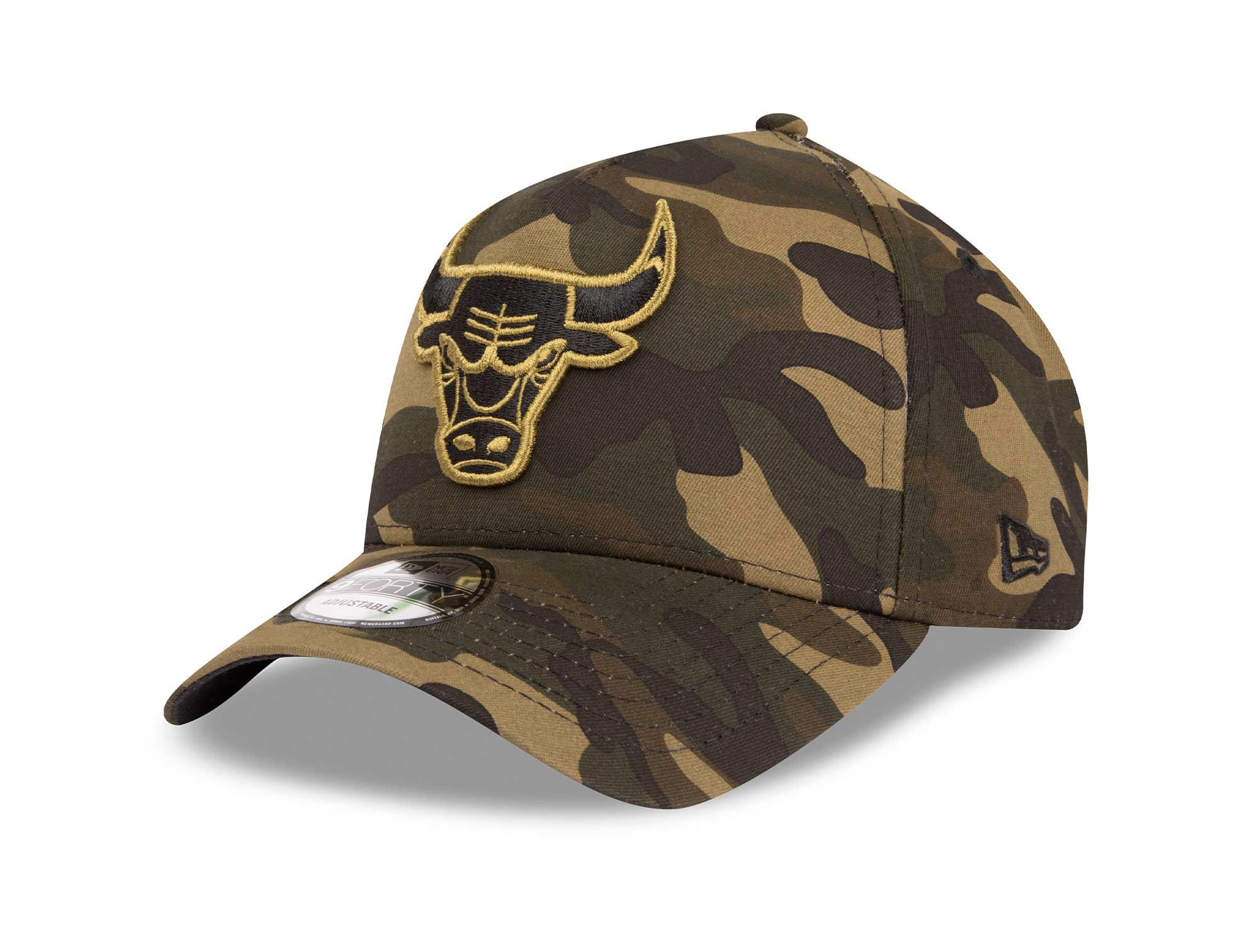 #112 Jockey New Era Chicago Bulls Hombre Verde