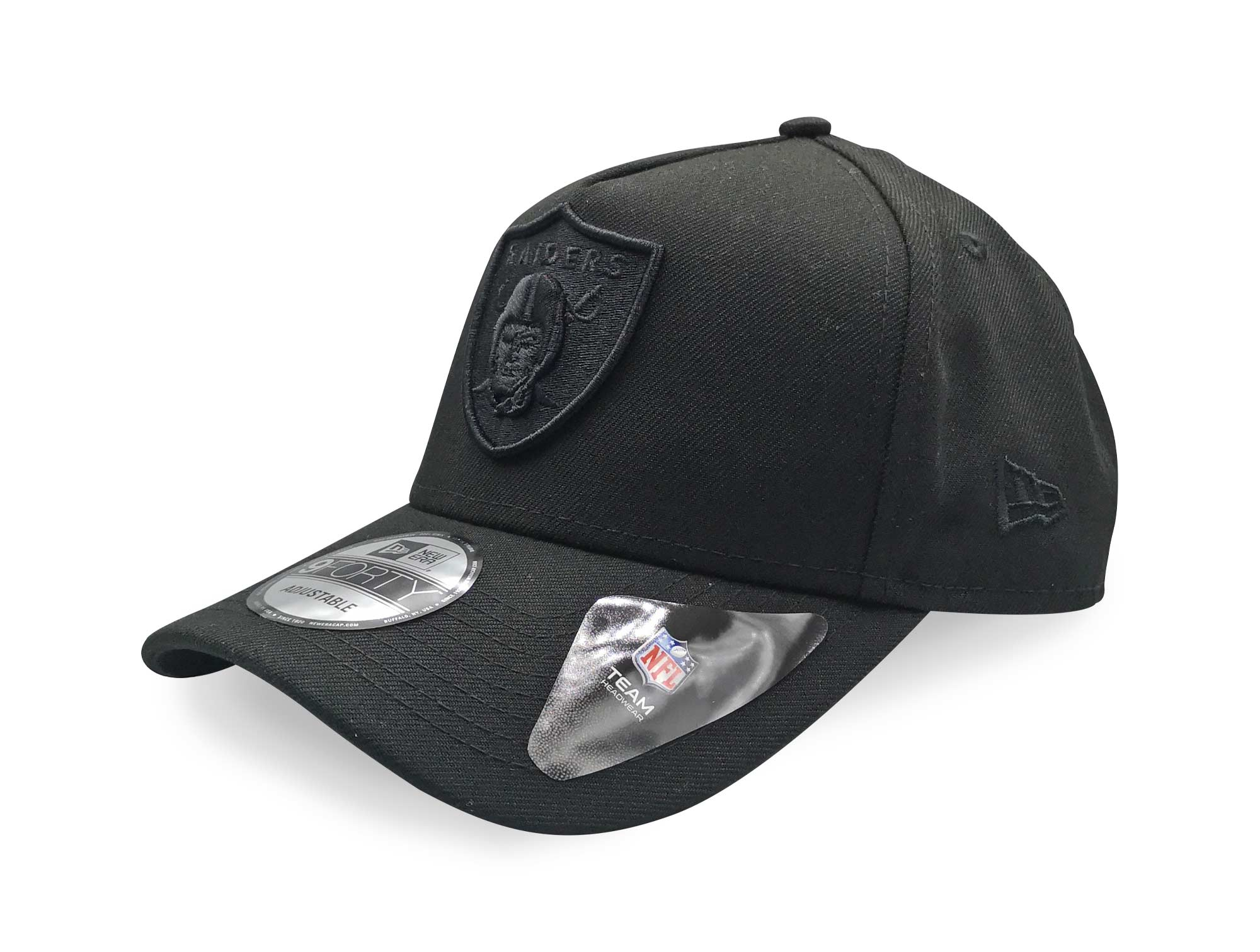 Jockey New Era Oakland Raiders Hombre Negro