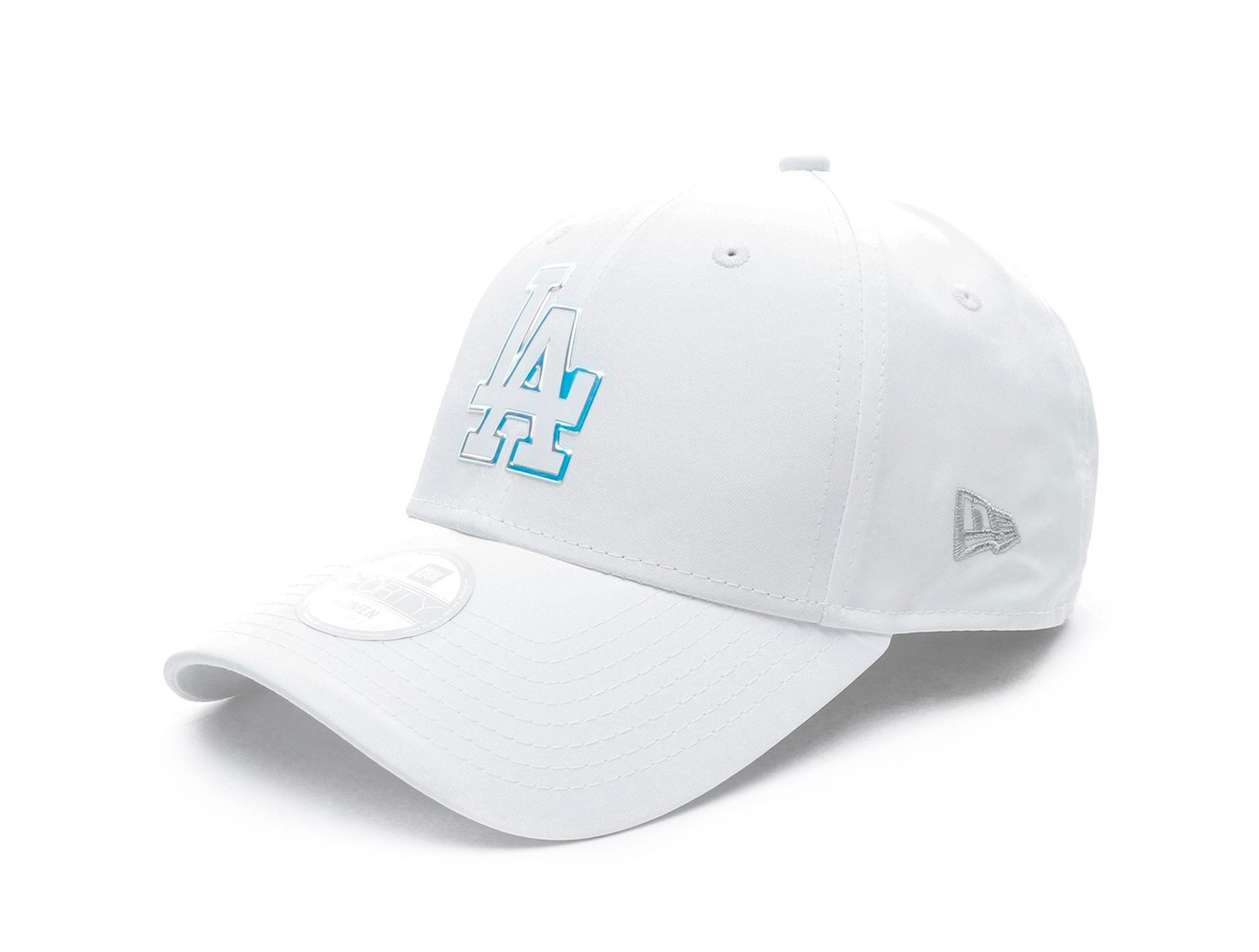 Jockey New Era Mlb 940 Los Angeles Dodgers Mujer Blanco