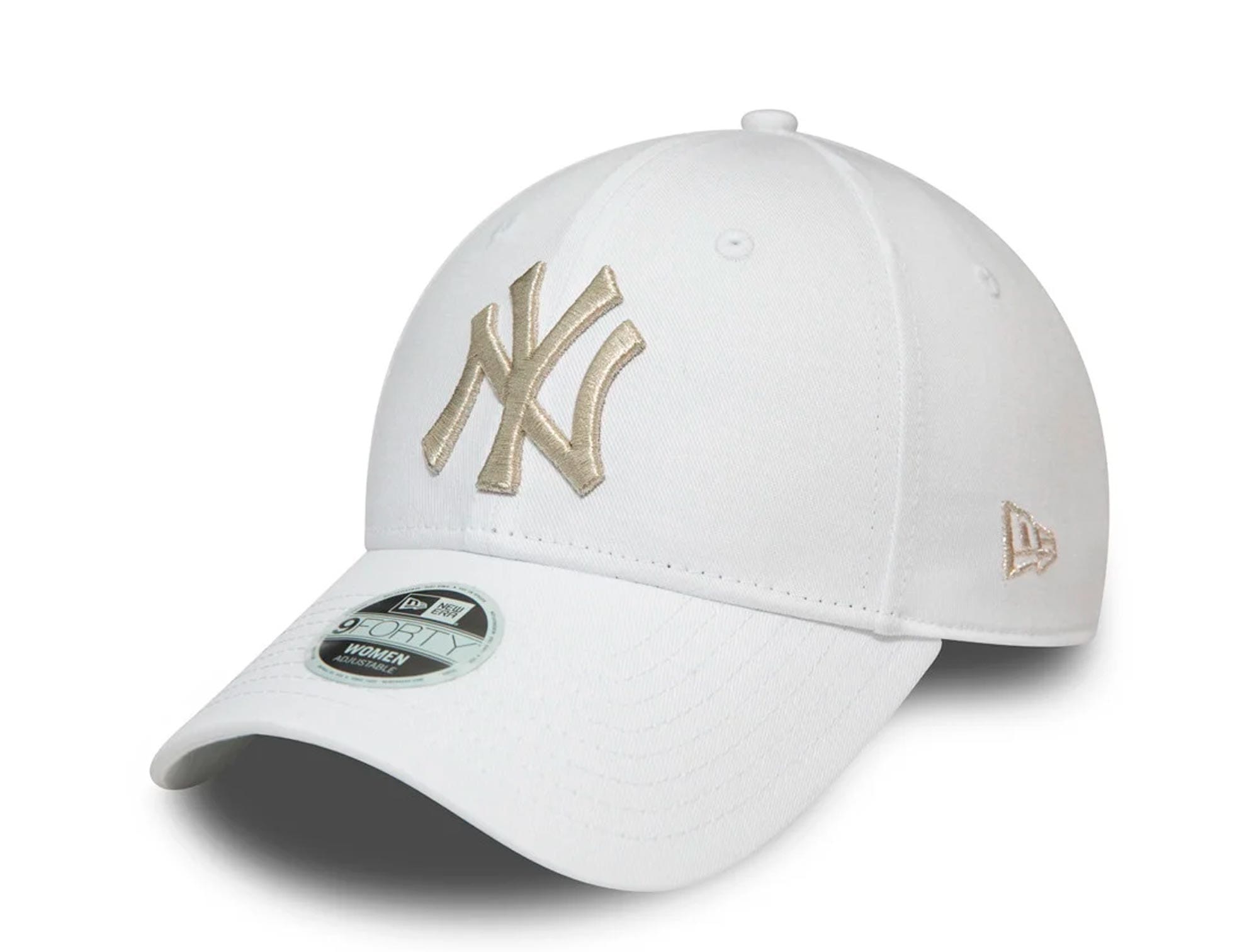 Jockey New Era Mlb 940 New York Yankees Mujer Blanco