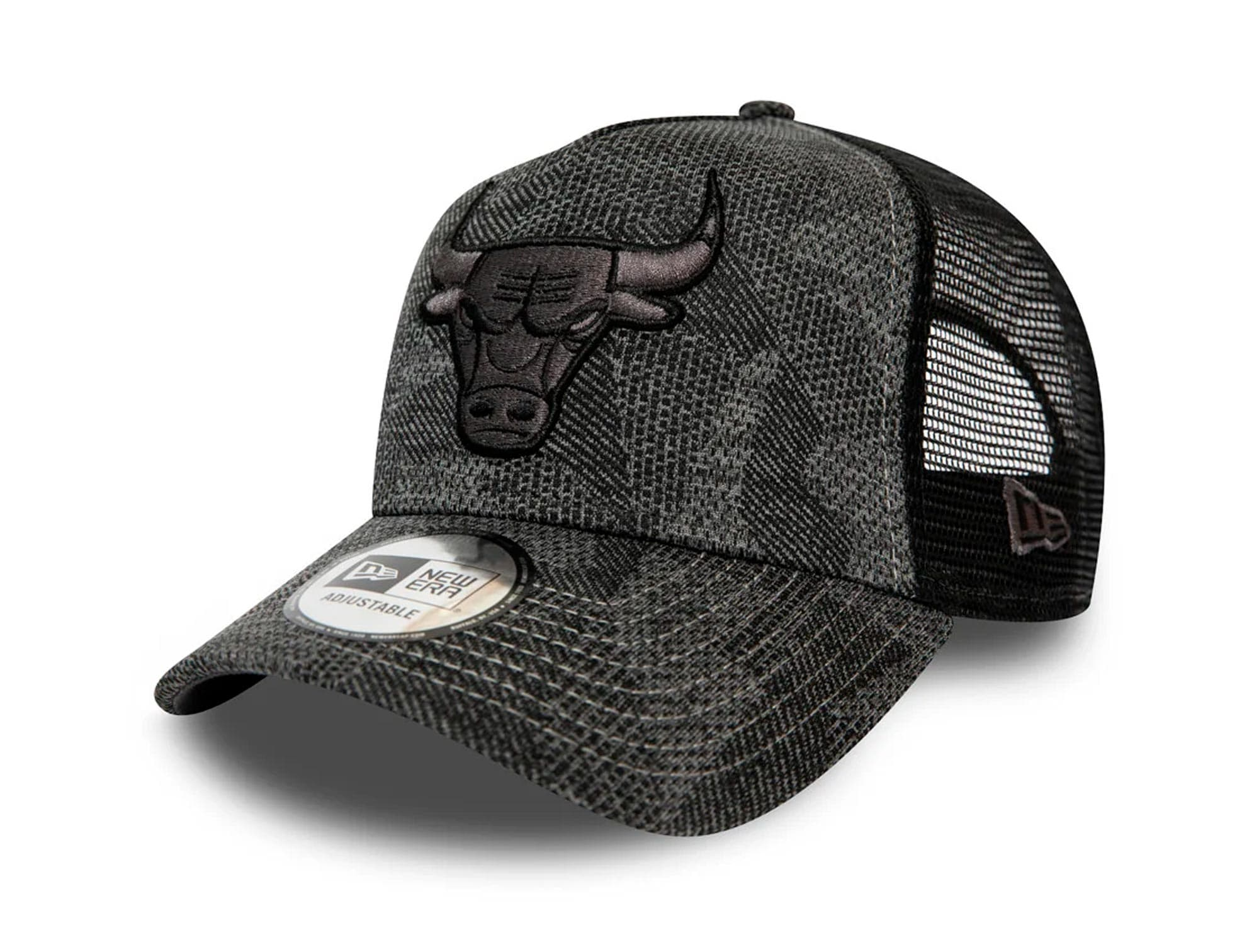 Jockey New Era Nba 940 Af Trucker Chicago Bulls Hombre Gris
