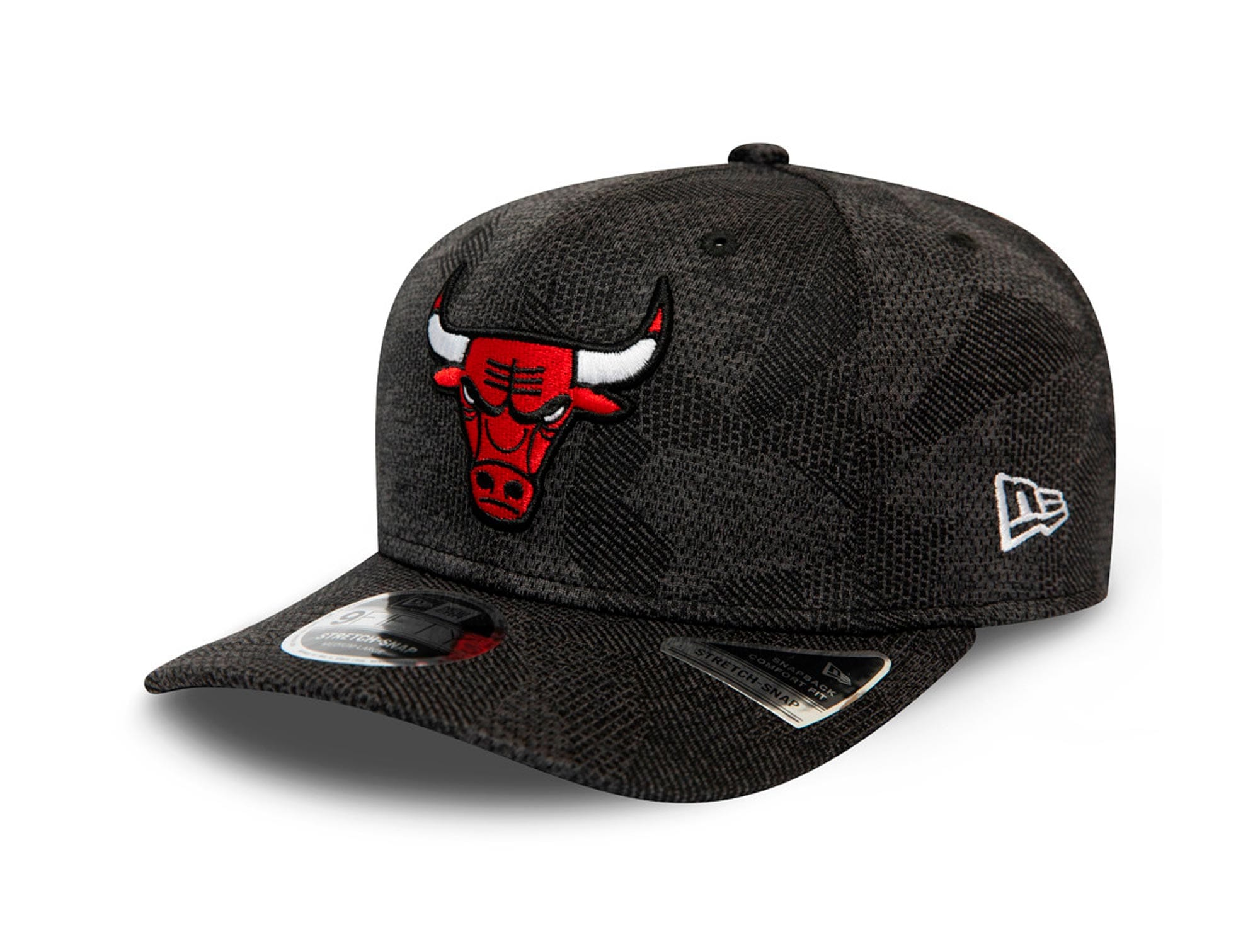 Jockey New Era Nba 950 Stretch Snap Chicago Bulls Hombre Negro