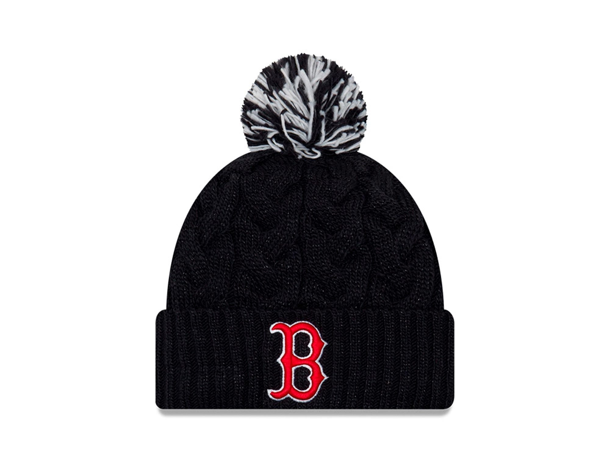 Beanie New Era Boston Red Sox Mujer Negro